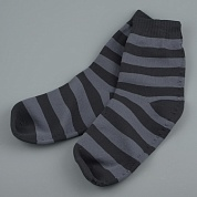 Носки водонепроницаемые Dexshell Ultralite Bamboo Black grey stripe DS643 р.L (43-46)